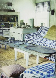 from the book, Country Interiors by Diane Dorran Saeks- farmhouse upstate New York