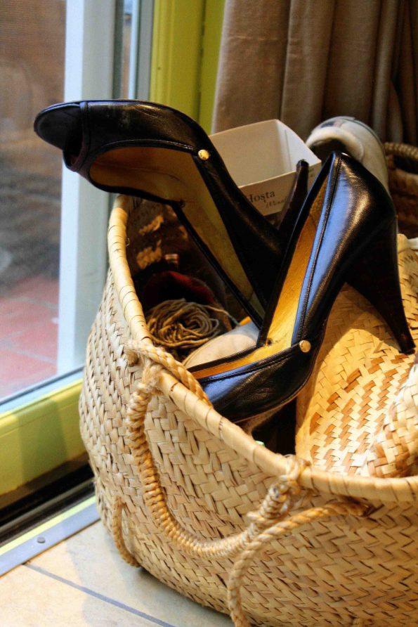 Deborah's don't-f-with-me shoes