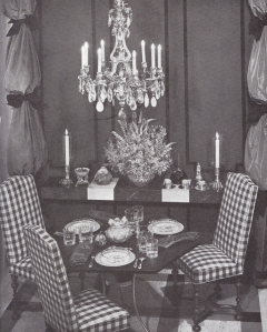 from the book, Tiffany Table Settings by Bramhall House