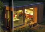 a modern shed from Shed Chic