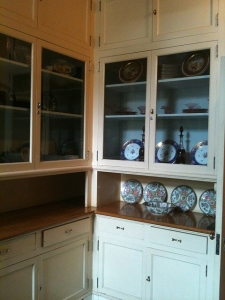 the original kitchen at Filoli