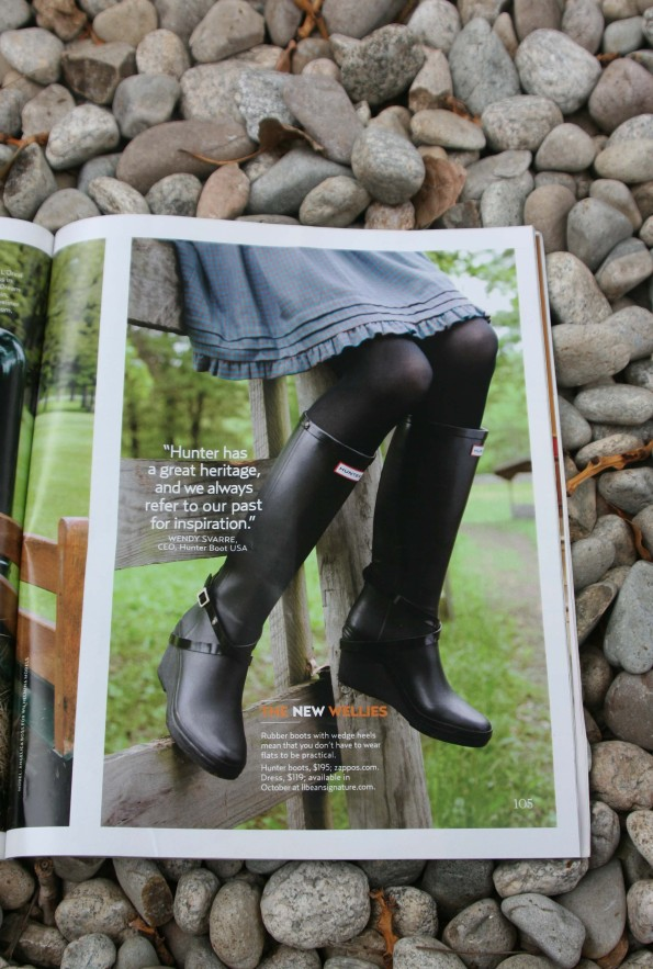 Hunter wellies country living